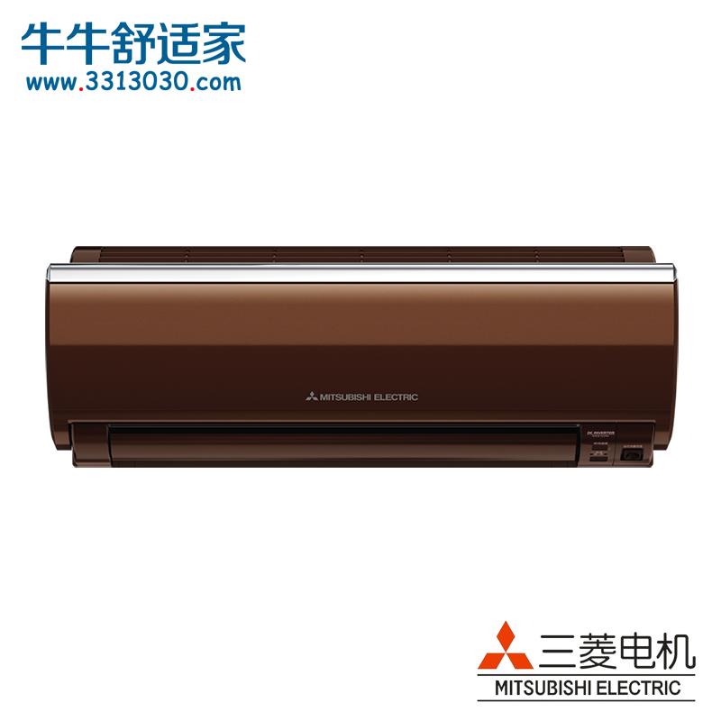 三菱电机 大1.5匹 1级能效 全直流变频 壁挂式冷暖空调(咖啡色)MSZ-PZ...